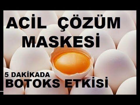 botoks etkisi yaratan yumurta maskesi
